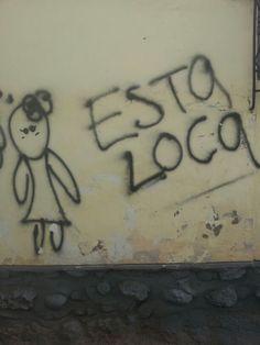 Esta Loca. San Blas, Cusco, Peru-- bien loca ,no en el buen sentido, y todos lo saben.