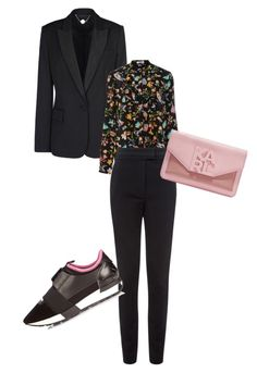 """""""the trainer"""" by yourlooksmyway on Polyvore featuring STELLA McCARTNEY, Cacharel, Vielma London, Balenciaga, Karl Lagerfeld, women's clothing, women's fashion, women, female and woman"""