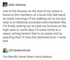I recently moved and two of my neighbors play different instruments. I sometimes sit in my room and hear a violin or some acoustic version on the guitar. Tumblr Stuff, My Tumblr, Tumblr Funny, Make Me Happy, Writing Prompts, Memes, The Funny, In This World, I Laughed