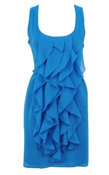 Cascading Ruffle Dress - This would make a GREAT #bridesmaid dress! And it's only $19.80!