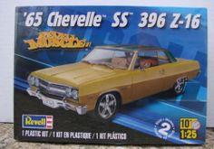 Revell  65 Chevelle SS 396 Z-16  box art