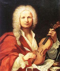Antonio Vivaldi  (Painting by François Morellon La Cave, 1723)