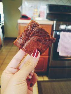 Nutella Brownies Recipe: sallysbakingaddiction.com