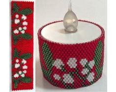 Mistletoe Tealight Cover
