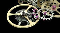 about gear train of wristwatch Swiss Watches For Men, Swiss Luxury Watches, Luxury Watches For Men, Old Watches, Vintage Watches, Wrist Watches, Gear Train, Small Clock, Watch Gears