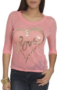 #Wet Seal                 #love                     #Love #Hachi #Knit #Shop #Tops #Seal                Love Hachi Knit Top | Shop Tops at Wet Seal                                   http://www.seapai.com/product.aspx?PID=308738