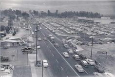Holt Ave. in Pomona. Indian Hill Mall on the left. California History, Old Pictures, Aunt, Mall, Commercial, Memories, Indian, Cabinet, Girls