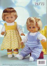 Knitting Patterns Baby Dolls Lace Shawl Knitting Patterns For Beginners Knitting Dolls Clothes, Baby Doll Clothes, Crochet Doll Clothes, Knitted Dolls, Doll Clothes Patterns, Doll Patterns, Crochet Toys, Knitting Patterns Boys, Baby Patterns