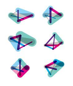#Generative Identity for Design & Art Australia Online by Clinton Duncan