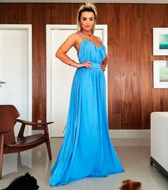 Strapless Dress Formal, Formal Dresses, Ideias Fashion, One Shoulder, Instagram, Glamour Dresses, Blue Gown, Shabby Chic Dress, Women's Clothes