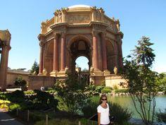 Palacio de Finas Artes, Marina District. San Francisco, California