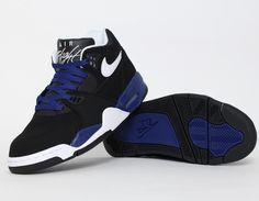 #Nike Air Flight 89 Black Blue