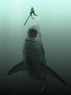 Megalodon by Thierry Berengier ;o))