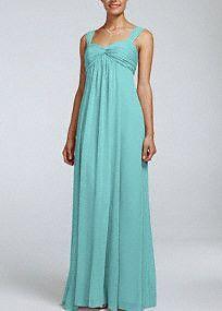 Bridesmaid Dresses & Junior Bridesmaid Dresses at Davids Bridal - cute blue/green