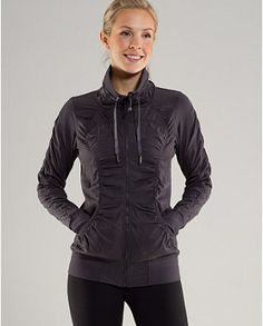 The Lululemon Cool-Down Jacket: So comfortable, and it's reversible too - 2 jackets in one!