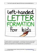 Information guide for left handed children from Left Handed Children.org