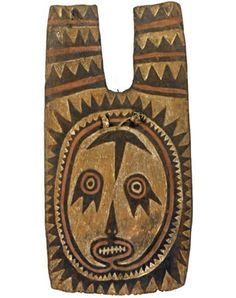 The British Museum - Bowman's shield, late 1800s, Maiva area, Gulf Province, Papua New Guinea  #HCFpost