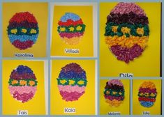 Easter Egg Paper Crafts The Beehive Buzz Easter Egg Crafts # Easter Egg Crafts, Easter Treats, Easter Bunny, Easter Eggs, Classroom Crafts, Preschool Crafts, Daycare Crafts, Classroom Ideas, Easy Crafts For Kids