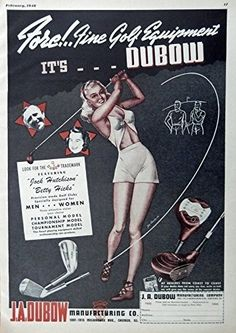 J A  Dubow Manufacturing Co  Print Ad   featuring  Jack Hutchison  Betty Hicks…