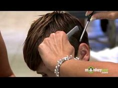 Hair Care - Cutting Boys Bangs and Removing Weight