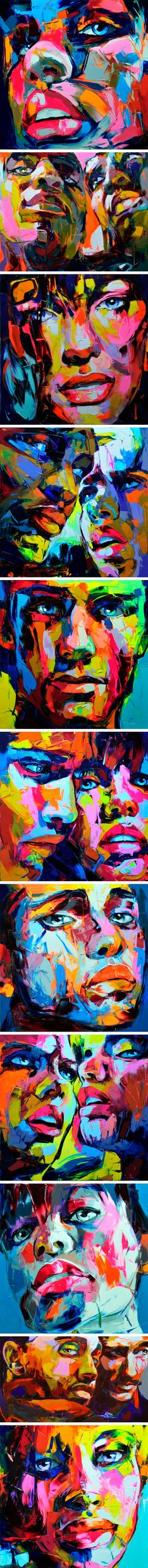 art by françoise nielly