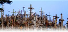 Lithuania | Bethany Christian Services hill of crosses