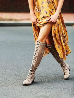 Free People Lace Up #Boots