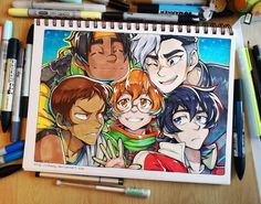 Team Voltron by shazy on DeviantArt