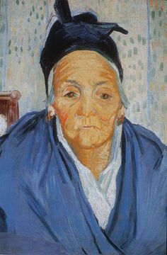Vincent Van Gogh. Old Women from Arles. 1888. Oil on canvas, 58 x 42.5 cm. Van Gogh Museum Amsterdam.