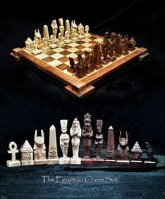 Custom Made, Hand Carved, Wood Themed Chess Set And Chess Tables Designed  And Created By Custom Chess Set Artist Jim Arnold. Hundreds On My Own Uniu2026