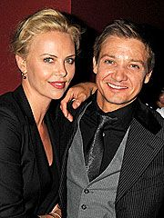 """After nearly nine years together, Theron and Townsend reportedly split. Soon after, the beauty is linked to her North Country costar Jeremy Renner. """"We're just friends,"""" the Oscar-nominated actor tells PEOPLE, denying the romance reports. 2010"""