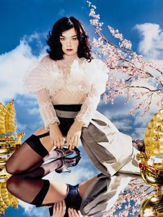 """Björk, """"Visible Virtues"""", 2001 David LaChapelle: """"Political art doesn't have to be ugly. David Lachapelle, Ellen Von Unwerth, Andy Warhol, Book Photography, Fashion Photography, Conceptual Photography, Editorial Photography, Photo Star, Political Art"""