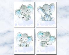 Nursery Sets, Baby Boy Nursery Decor, Baby Room Art, Baby Wall Art, Elephant Nursery, Boys Room Decor, Nursery Neutral, Baby Boy Nurseries, Art Wall Kids