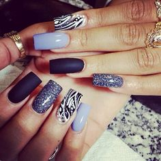 Pretty but way too long. Would definitely get them but shorter! Love the matte navy colour.