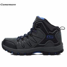 Comemore Men And Women's Waterproof Hiking Shoes Antiskid Desert Jungle Trekking Sport Shoes Lovers Hunting Male Climbing Boots
