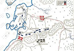 Map of Battle of Long Island 27th Aug 1776 by John Fawkes