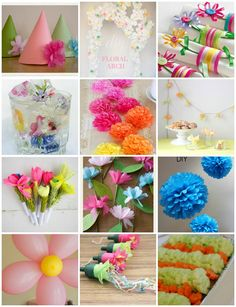 DIY Paper Arts Baloon | ... floral inspired diy s for parties paper ribbon food balloons it