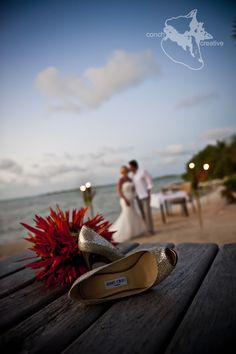 Destination #Belize #Wedding #Photography - Belize Wedding Photography - Brides love a pair of 'Choos'
