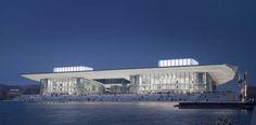 Schlüsselposition im neuen Kulturpark – Grand Theater von gmp Architekten-DETAIL.de