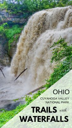 For Ohio adventures and things to do in Ohio, look to Cuyahoga National Park attractions like hiking trails and waterfalls near Cleveland, and a short midwest road trip from Columbus, Pennsylvania (Pittsburgh!) and Michigan (Detroit!). Lots of Ohio state history means it's worthy to come from Cincinnati too. There are good hikes and biking trails to do with kids that are family-friendly, with good spots for travel photography too. There's also camping at the park.