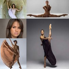 Misty Copeland. The American Ballet Theatre first African-American principle dancer in their 75 year history. ....