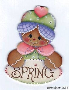 HP-GINGERBREAD-Spring-FRIDGE-MAGNET