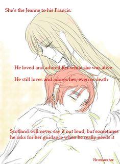 Mary Queen of Scots and Scotland Headcanon