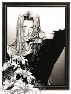 "Some illustrations of the collection of images ""Salty Dog VIII"". The four portraits of Saiyuki Gaiden are new."