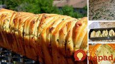Trhaný cesnakový chlieb