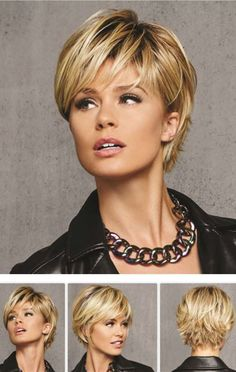 Layered Hairstyles With Bangs Unique Short Layered Hairstyles With Bangs  Hair Styles  Pinterest