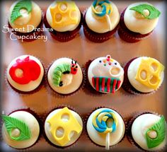 *Sweet Dreams Cupcakery*: Hungry Caterpillar 1st Birthday Cupcakes