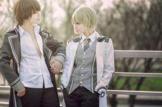 男人之间的话题 - NightyQueen(奈缇) Natsuhiko Azuma, WanYue Ron Muroboshi Cosplay Photo - Cure WorldCosplay