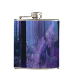 Mystic Night Hip Flask