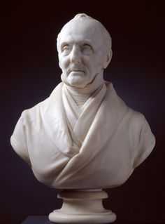 Bust of George Jones, R.A., 1870 by Henry Weekes. Marble, 710 X 540 X 320 mm Given by Mrs George Jones, 1870. Photo: R.A./Paul Highnam © Copyright protected